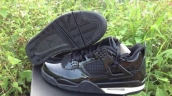 AAA Air Jordan 4 HF Leather Black White 170