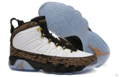 AAA Air Jordan 9 Retro White Golden Black