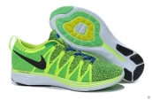 Nike Flyknit Lunar2 Fluorescent Green Black Blue