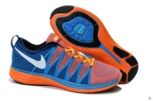 Nike Flyknit Lunar2 Orange Blue White