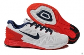 Nike LunarEclipse 6-0 White Red Navy Blue
