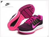 Nike Zoom Structure 18 Women Black Purple White