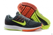 Nike Zoom Structure 18 Black Green Orange