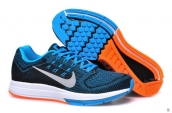 Nike Zoom Structure 18 Blue Black White Orange