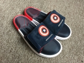 Avengers X Adidas Slippers Mens Captain America