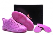 AAA Air Jordan 6 Low Women Pink 150