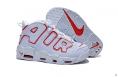 Air More Uptempo Women White Red 200