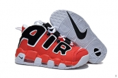 Air More Uptempo Women Red Black White 200
