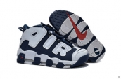 Air More Uptempo Women White Navy Blue 200