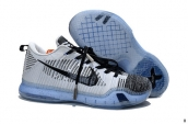 Nike Kobe 10 Elite Low HTM White Black 420