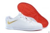 Nike Lebron 12 Casual Low Shoes White Golden