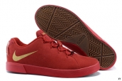 Nike Lebron 12 Casual Low Shoes Red Golden