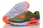 2015 Air Max 90 HYP PRM Army Green Orange Black White