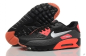 2015 Air Max 90 HYP PRM Black Red White