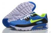 2015 Air Max 90 HYP PRM Blue Black Green White