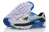 2015 Air Max 90 HYP PRM Grey Black Blue White