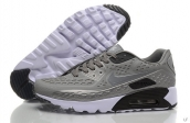 2015 Air Max 90 HYP PRM Grey Black White