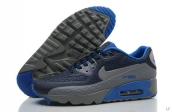 2015 Air Max 90 HYP PRM Navy Blue Dark Grey