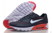 2015 Air Max 90 HYP PRM Navy Blue Red White