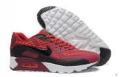 2015 Air Max 90 HYP PRM Wine Red Black White