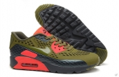 2015 Air Max 90 HYP PRM Army Green Black Red