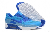 2015 Air Max 90 HYP PRM Blue White