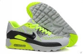 2015 Air Max 90 HYP PRM Grey Green Black