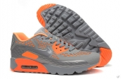 2015 Air Max 90 HYP PRM Grey Orange