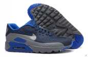 2015 Air Max 90 HYP PRM Navy Blue Grey