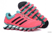 Adidas Springblade IV Women Pink Black Light Green