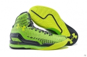 Ua Curry II Fluorescent Green Black