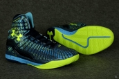 Ua Curry II Navy Blue Green