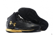 Ua Curry One Black Golden