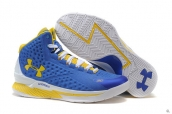 Ua Curry One Blue Yellow White