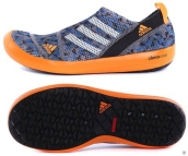 Women Adidas Climacool Boat SL G Blue Orange