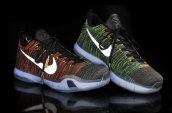 Nike Kobe 10 Elite Low HTM Orange Green Black White 420