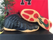 Air Foamposite One Black Yellow Red