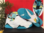 Air Jordan 7 White Blue 100