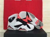 Air Jordan 7 Women AAA White Black Pink 120