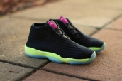 Air Jordan Future Perfect Women Glow Black Green Pink