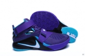 Nike Zoom Soldier 9 Hornets Purple