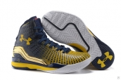 Ua Curry II Navy Blue Golden White