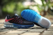 Air Max 2015 AAA Black Blue Red White