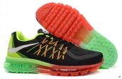 Air Max 2015 AAA Black Red Green White