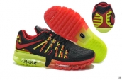 Air Max 2015 II AAA Black Red Fluorescent Green