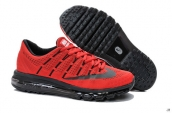 Air Max 2016 Women Red Black