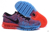 Nike Flyknit Air Max Purple Blue Black Red