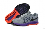 Nike Zoom Pegasus 31 Women Grey Purple Black Red