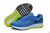 Nike Zoom Pegasus 31 Blue White Black Fluorescent Green