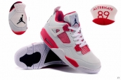 Air Jordan 4 White Red 90